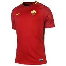 AS ROMA NIKE NUOVA MAGLIA GARA HOME 2017/2018 PATCH CHAMPIONS LEAGUE +UEFA RESPE