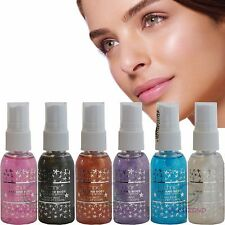 Technic Face & Body Shimmer Glitter Spray Sparkle Shades Christmas Party Girl
