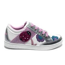 Lelly Kelly sneakers california coccinella argento-bianco art.lk6120
