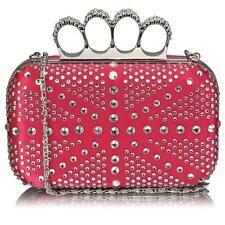 157- New Women's Knuckle Rings Evening Bag