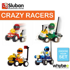 SLUBAN CRAZY RACERS FULL RANGE CHOOSE YOUR KIT FULLY COMPATIBLE BRAND NEW
