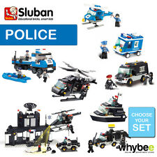 SLUBAN POLICE FULL RANGE CHOOSE YOUR KIT FULLY COMPATIBLE BRAND NEW