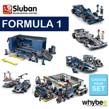 SLUBAN FORMULA 1 F1 RACING CARS FULL RANGE CHOOSE YOUR KIT FULLY COMPATIBLE