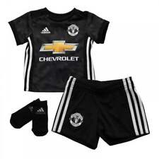 Adidas Infants Manchester United 2017/2018 Baby Away Kit (3M-18M) (Black)