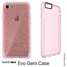 Tech21 Evo Gem Protective Case/Cover in Rose for iPhone 6/6S, 7 & 7 Plus New!
