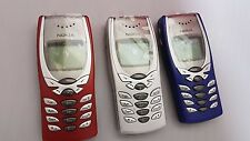 NEW NOKIA 8250 Butterfly FACTORY UNLOCKED GSM MOBILE PHONE UK RED-SILVER-BLUE