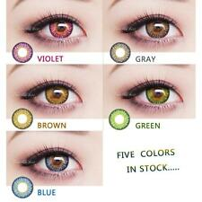 5 colors Coloured Contact Lenses Kontaktlinsen color contacts lens color-Qingyin