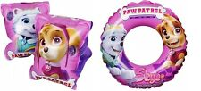 PAW PATROL Skye Everest Girls Inflatable Swim Ring Armbands Beach Ball Summer