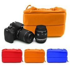 Shockproof Camera Insert Bag Protect Package Case Partition Padded For DSLR SLR