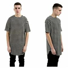 Men Striped T Shirt Cotton Short Sleeved O-Neck Swag Men T-Shirt casual Tops tee