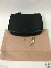 Louis Vuitton EPI Leather Monte Carlo Jewellery Box / Pouch With Padlock Bag