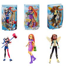 DC Super Hero Girls Harley Quinn, Poison Ivy, Starfire, or Bumble Bee 12in Figs