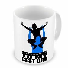 Happy Fathers Day To My Best Dad Novelty Gift Mug