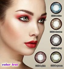 2017 lenses colored eye  color contacts Kontaktlinse Contact Lenses Soft