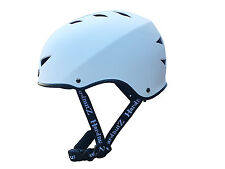 HardnutZ Street BMX Helmet White Skateboard Scooter Sports Adults Kids Cycle