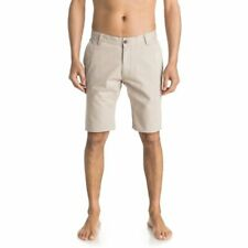 QUIKSILVER TOUS LES JOURS 21'' BERMUDA CHINO PLAZA TAUPE SS 2017 NEUF 30 32