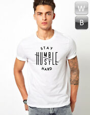 Stay Humble Hustle Hard T-shirt Swag Cool Music Hipster Tumblr Gift Unisex Tee T