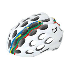 Catlike Whisper Road Helmet Cycling Dual Flow Air Venting White World Champs