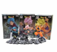 DRAGON BALL Z -  figuras acción Trunks, Black Goku, Goku Saiyan figuras acción