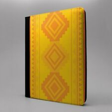 Azteca Art Diseño Estampado Patrón Funda libro para Apple iPad - p488