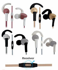 Sports Fitness Sweatproof Bass In-Ear Earphones Compatible For iBall Andi 5L Rid