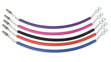 SHIRES STALL CHAIN coloured rubber stable guard stall chain horse pony ALL COLOU