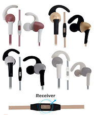 Sports Fitness Bass In-Ear Earphones Compatible For Sony Xperia M4 Aqua 16GB