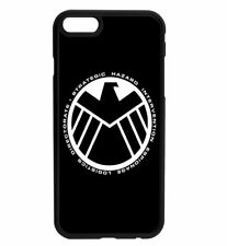Marvel DC Agents of Shield S.H.I.E.L.D. Rubber Case For iPhone & Samsung