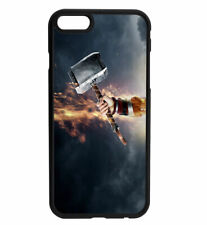 Thor God of Thunder Hammer Rubber Bumper Phone Case for iPhone & Samsung's D9