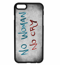 Bob Marley No Woman No Cry Rubber Bumper Phone Case for iPhone & Samsung's D6