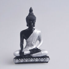 The Hue Cottage Meditating Seated Buddha Deity Indian Statue Religious Figurines