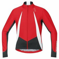 Maillot Gore Bike Wear Oxygen WindStopper Manga larga Rojo