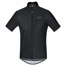 Maillot Gore Bike Wear Power Windstopper SO Negro