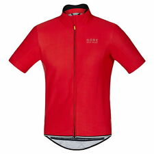 Maillot Gore Bike Wear Power Windstopper SO Rojo