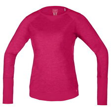 Maillot Gore Bike Wear Power Trail Manga Larga Rosa Mujer
