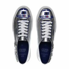 SUPERGA STAR WARS SNEAKERS R2-D2 DROID SILVER-BLUE