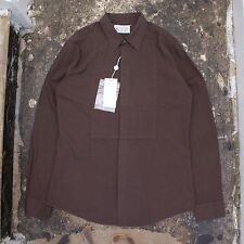NEW Maison Martin Margiela Brown Shirt With Front Panel Detail BNWT RRP £180