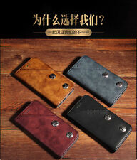 Kolorfish Flip Wallet PU Leather Vintage Case / Cover for iPhone 7