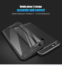 Soft Silicon Frame Hard Transparent Autofocus Back Case Cover for iphone 6S / 7