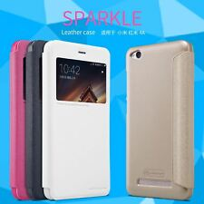 Nillkin Sparkle Leather Luxary Flip Cover Case For Xiaomi Redmi 4A