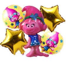 Trolls Supershape / Bundle Poppy Foil Kid's Balloons Birthday Party Decorations