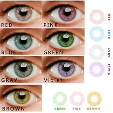Pure Farbige Kontaktlinsen Coloured Contact Lenses Color Contacts Circle Lenses