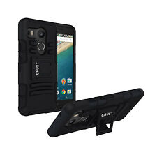 CRUST™ Armor Back Cover For LG Google Nexus 5X Kick Stand Dual Layer Hard Case