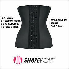 Classic Latex Waist Trainer Sports Corset Girdle Bodyshaper Cincher Shapewear
