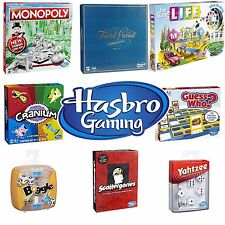NEW 2017 HASBRO BOARD GAME RANGE // GAMES FOR FAMILY CHILDREN ADULTS PARTY