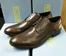 Perfecta Brogue Leather Shoes Export Surplus Best Quality Rubber Sole UK12