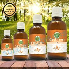 CARDAMOM OIL  100% NATURAL PURE UNDILUTED UNCUT ESSENTIAL OIL 5ML TO 1000ML