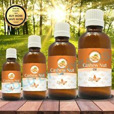 CASHEW NUT OIL 100% NATURAL PURE UNDILUTED UNCUT CARRIER OIL 5ML TO 1000ML