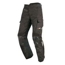 Alpinestars Andes Drystar V2 Waterproof Textile Motorcycle Trousers Black