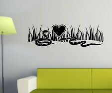 Mural tattoo Snakes Love Wall Stickers Decal Wall Sticker 1A284